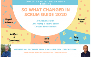 So what changed in the new Scrum Guide 2020